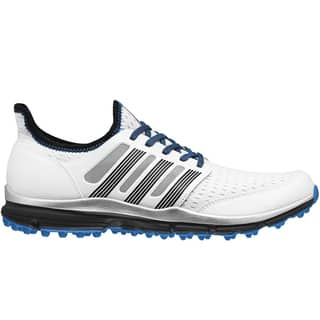 Adidas Mens Climacool White/Silver/Bright Blue Golf Shoes|https://ak1.ostkcdn.com/images/products/10867801/P17905724.jpg?impolicy=medium