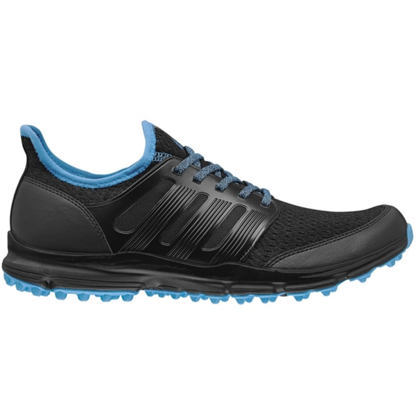 Adidas Mens Climacool Black/Cyan Golf Shoes
