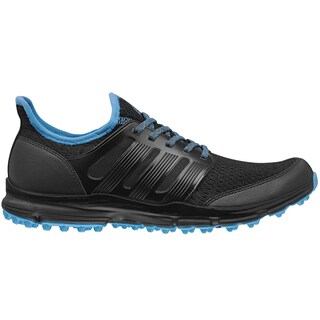 Adidas Mens Climacool Black/Cyan Golf Shoes (As Is Item)