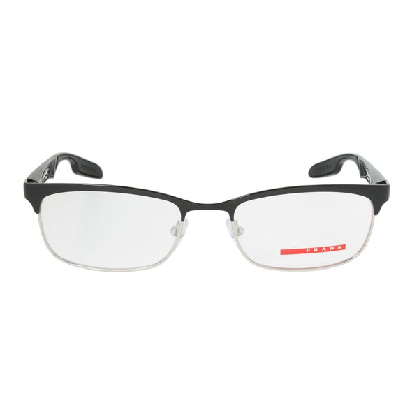 Prada Red Frame Glasses : Prada PS54DV 1BO101 Eyeglasses Frame - Free Shipping Today ...