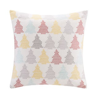 Madison Park Holiday Tree 20-inch Throw Pillow