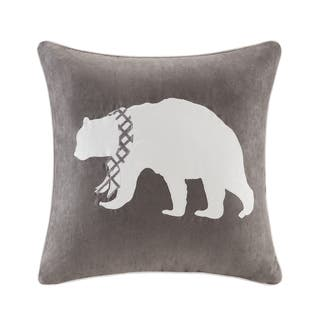 Madison Park Embroidered Bear Throw Pillow|https://ak1.ostkcdn.com/images/products/10867893/P17905789.jpg?impolicy=medium