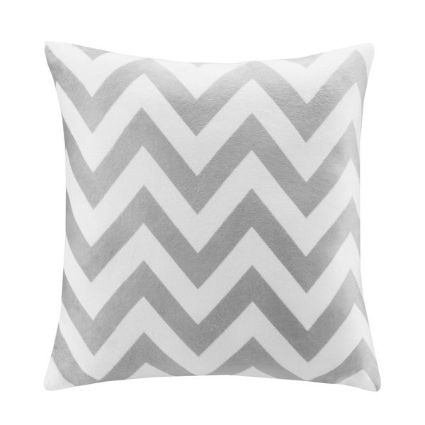 Intelligent Design Chevron 20x20 Square Pillow