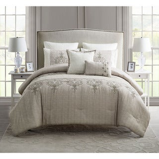 VCNY Grace Embroidered 7-piece Comforter Set