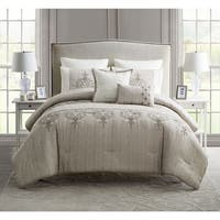 VCNY Grace Embroidered Comforter Set