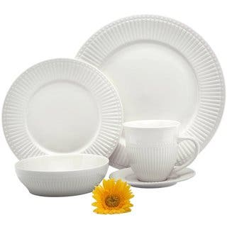 Melange 40 Piece Italian Classic White Premium Dinnerware Place Setting, Service for 8|https://ak1.ostkcdn.com/images/products/10868008/P17905850.jpg?impolicy=medium