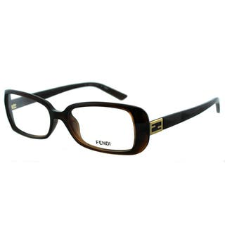 Fendi Women's FE 898 209 Brown Plastic Rectangle Eyeglasses|https://ak1.ostkcdn.com/images/products/10868009/P17905942.jpg?impolicy=medium
