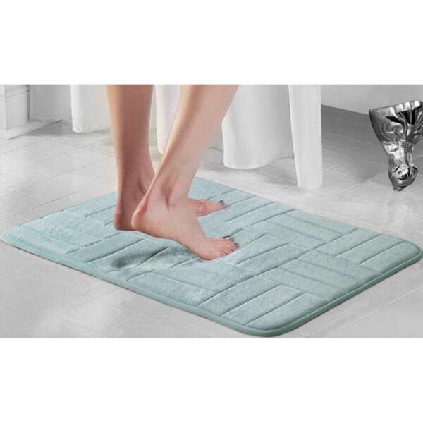 17 inch x 24 inch Memory Foam Bath Mat (2-Pack)