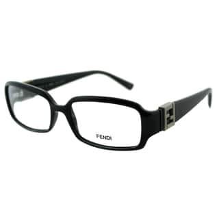 Fendi Women's FE 880 001 Black Rectangle Plastic Eyeglasses|https://ak1.ostkcdn.com/images/products/10868018/P17905946.jpg?impolicy=medium