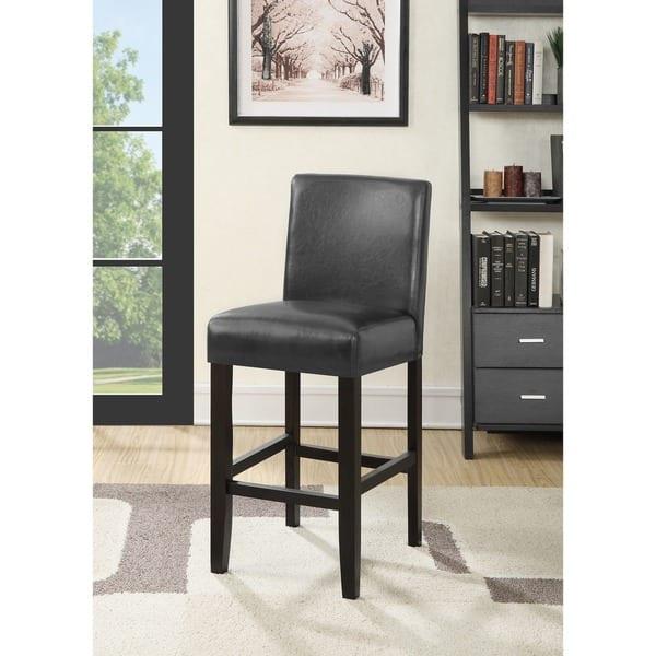 Super Shop Citylight 25 Inch Faux Leather Counter Height Barstool Creativecarmelina Interior Chair Design Creativecarmelinacom