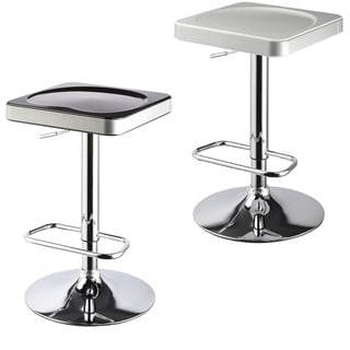 I-Stool ABS 25 - 30-inch Adjustable Swivel Barstool (Set of 2)