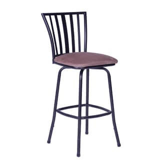 Square Seat Bar/ Counter Height Adjustable Metal Bar Stool