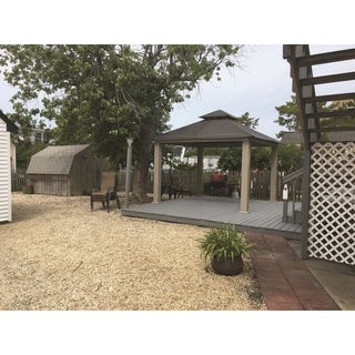 Riverstone Industries Acacia Gazebo Sun-Dura (14' x 14')