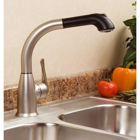 Lily Cleanflo Pull Out Kitchen Faucet