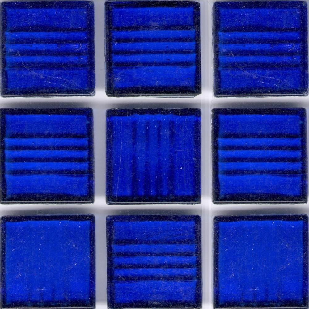 - Shop Clear Cobalt Blue 3/4-inch Glass Tile - Overstock - 10868122