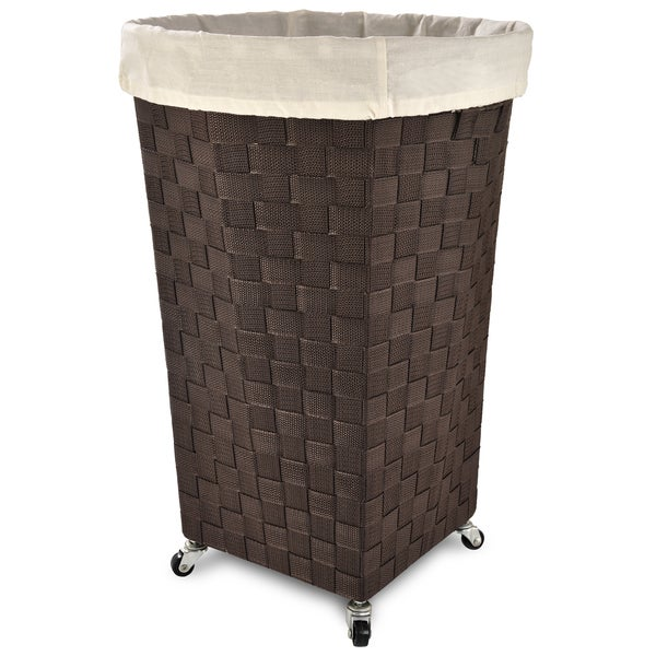 Shop Lamont Home Linden Laundry Hamper Free Shipping On