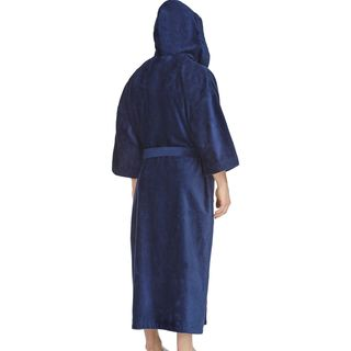 Majestic Men's Maxi Hooded Terry Velour 56-inch Robe
