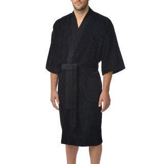 Majestic Men's Basic Cotton Terry Velour Kimono|https://ak1.ostkcdn.com/images/products/10868161/P17906010.jpg?impolicy=medium