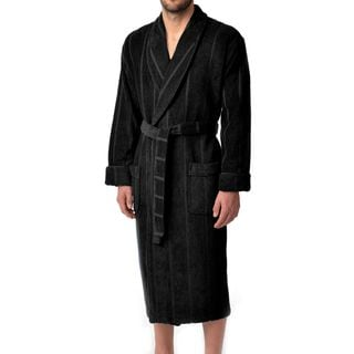 Majestic Men's Ultra Lux High Twist 50-inch Shawl Robe (Option: L)