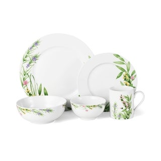 Mikasa Herbal Fields 20 Pc Dinnerware Set