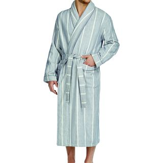 Majestic Men's Breakers 2-ply Cotton Herringbone Robe