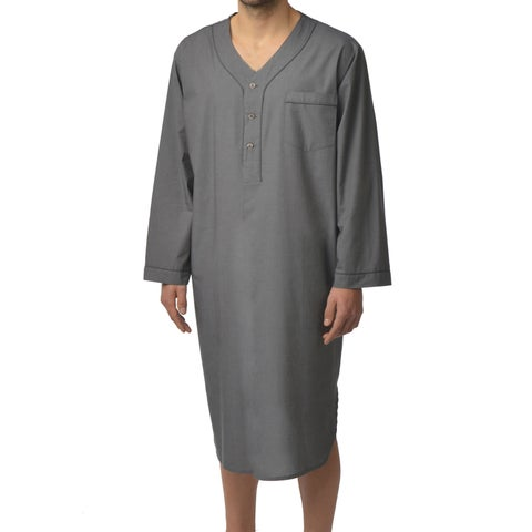 Majestic Men's Basics 100-percent Cotton Nightshirt