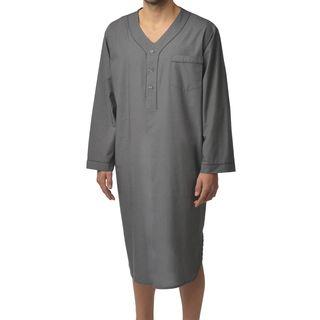 Majestic Men's Basics 100-percent Cotton Nightshirt (2 options available)