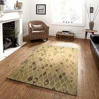 LR Home Integrity Mojave Oatmeal Indoor Area Rug - 8'9 X 11'9