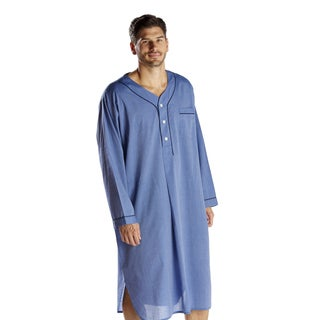Majestic Men's Cvc End On End Nightshirt|https://ak1.ostkcdn.com/images/products/10868200/P17906077.jpg?_ostk_perf_=percv&impolicy=medium