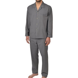 Majestic Men's Basics Long Sleeved 100-percent Cotton Pajama (More options available)