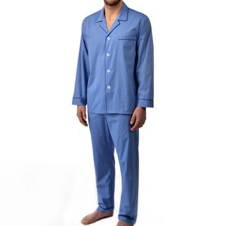 Majestic Men's Basics Long Sleeved 100-percent Cotton Pajama