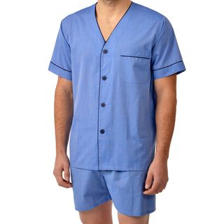Majestic Men's Cvc End On End Basic Shorty Pajama Set