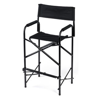 E-Z UP Black Tall Standard Directors Chair