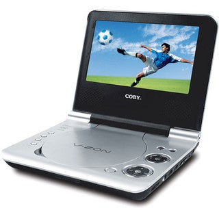 Coby TF-DVD8107 8-inch Portable DVD Player Refurbished