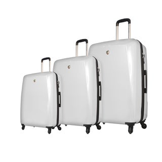 Mia Toro Italy Fibre Di Carbonio Moderno 3-piece Expandable Hardside Spinner Luggage Set