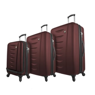 Mia Toro Italy Tasca Moderna 3-piece Expandable Hardside Spinner Luggage Set
