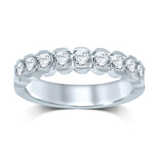 Unending Love 14k White Gold 1ct TDW Diamond Band (I-J, I1-I2)