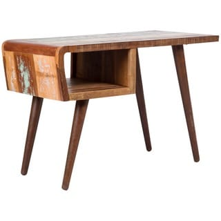 Wanderloot Route 66 Reclaimed Wood Desk (India)
