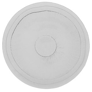 French Home 18-inch Ice Clear Birch Platter