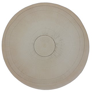 French Home 18-inch Mocha Birch Platter