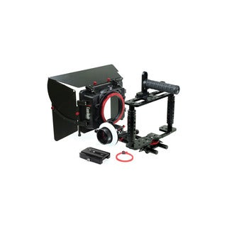 Camtree Kit-100 Fort Camera Cage With Camshade Matte Boxand X5 Follow Focus
