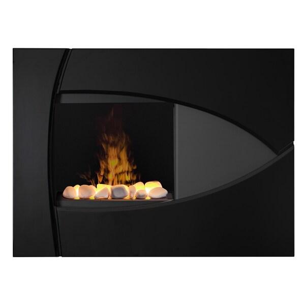 Braydon Wall-Mount Opti-myst Technology Electric Fireplace