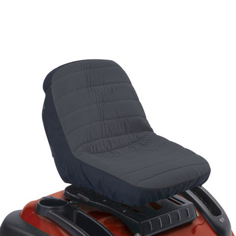 Classic Accessories Deluxe Riding Lawn Mower Seat Cover