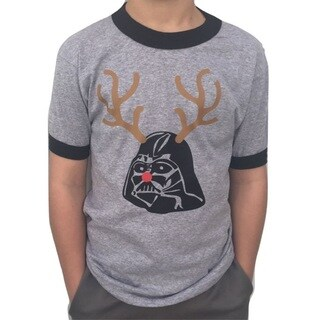Boys' Darth Vader Rudolph Christmas T-Shirt (4 options available)