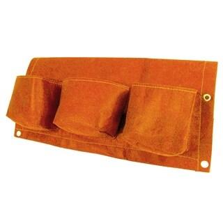 BloemBagz 24-inch 3-Pocket Tequila Sunrise Rail Planter