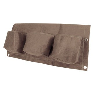 BloemBagz 24-inch 3-Pocket Curated Rail Planter