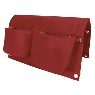 BloemBagz 18-inch 2-Pocket Union Red Rail Planter