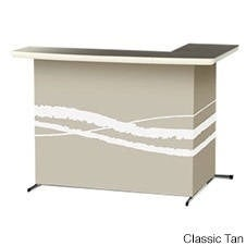 Best of Times Portable Patio Bar in Classic Colors (Option: Tan)