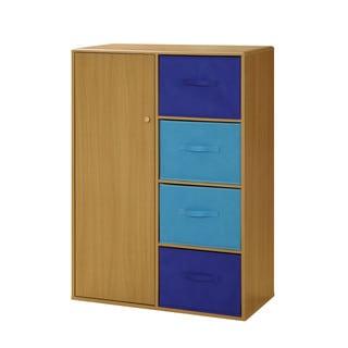 Blue Boy's Storage Armoire