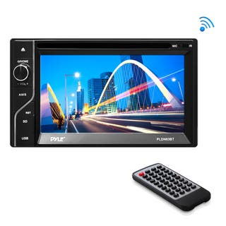 Pyle PLDN63BT 6.5 Inch Double Din Bluetooth Touch-Screen Monitor|https://ak1.ostkcdn.com/images/products/10868784/P17906636.jpg?impolicy=medium